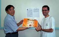 il Prof. Dong e il Dr. Giuseppe Romanazzi